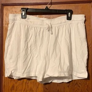 White Champion Shorts